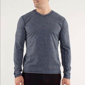 Lululemon Speed Long Sleeve Classic Stripe